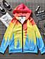 povoljno Muške majice s kapuljačom i trenirke-Muškarci Osnovni Hoodie 3D / kamuflaža