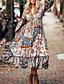 cheap Summer Dresses & Boho-Summer Floral Print Dress