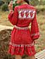 cheap Summer Dresses & Boho-Women's Set - Geometric Skirt