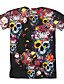 cheap Girls'Tees & Blouses-Kids Girls' T shirt Tee Short Sleeve Geometric Print Black Children Tops Basic Holiday