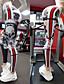 abordables Pantalons pour femmes-Femme Sportif Des sports Mince Quotidien Joggings Pantalon Crânes Toute la longueur Sportif Noir