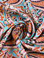 cheap Boho Dresses-Women's Maxi long Dress - Short Sleeve Paisley Print Summer V Neck Casual Hot Holiday vacation dresses 2020 Blue Red Brown S M L XL XXL 3XL