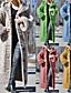 abordables Tricots et cardigans-Femme Front ouvert Manteau pull Longue Couleur Pleine Quotidien basique Chameau Noir Bleu Rouge S M L XL