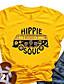 cheap Tees & T Shirts-hippie soul shirt women hippy bus graphic t-shirt hippie music tees summer short sleeve tops clothes (green-1, l)