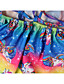 cheap Girls' Dresses-Kids Little Girls' Dress Rainbow Floral Patchwork Party Casual Holiday Pleated Print Rainbow Knee-length Sleeveless Active Sweet Dresses Children's Day Summer Regular Fit 2-12 Years