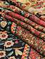 cheap Scarves & Bandanas-Women's Chiffon Scarf Red Daily Wear Scarf Graphic / Shawls / Multi-color / All Seasons / Polyester