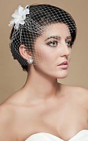 Blusher Veils / Charms / Accessory Party Accessories Party / Party / Evening Classic Theme / Holiday Material / Birdcage / Cut Edge