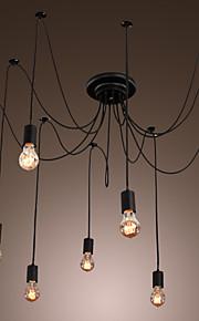QINGMING® 10 lumières Grappe Lustre Lumière dirigée vers le bas - LED, 110-120V / 220-240V Ampoule incluse / 50-60㎡ / E26 / E27