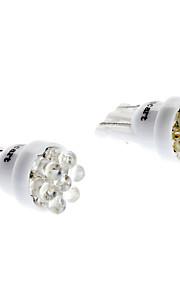 SO.K 1pc 12 V Décoration Lampe de lecture / Eclairage plaque d'immatriculation / Ampoules LED