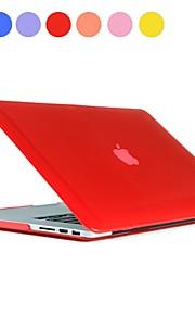 """Sólido estuche rígido de la PC del color con el cristal para el MacBook Pro Retina 13 """"(varios colores)"""