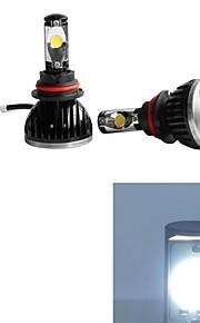 2pcs 9004 Auto Lampadine 30W W 2200-5200lm lm 2 Luce da lavoro Luce antinebbia