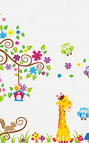 Tiere Wand-Sticker Flugzeug-Wand Sticker Dekorative Wand Sticker, Vinyl Haus Dekoration Wandtattoo Wand