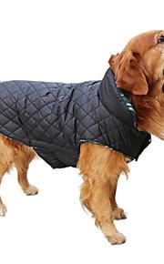 Σκύλος Παλτά   Veste Ρούχα για σκύλους Καρό   Τετραγωνισμένο Καφέ   Κόκκινο    Πράσινο Βαμβάκι 214293eb962