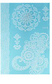 c0c9b78d50 10 pcs ideiglenes tetoválás Vízálló / Csipke / Non Toxic Arc / kezek /  brachium Papír