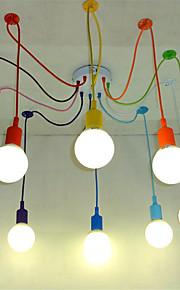 10 lumières Lustre Lumière d'ambiance - Style mini, 110-120V / 220-240V Ampoule non incluse / 15-20㎡ / E26 / E27