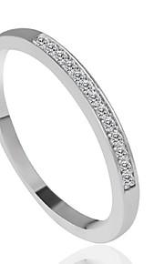 Damen Bandring - Modisch Silber Ring Für Hochzeit Party Alltag Normal