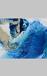 Hang malte oljemaleri Håndmalte - Abstrakt Europeisk Stil Lerret