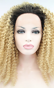 Synthetic Lace Front Wig Kinky Curly Women's Lace Front Carnival Wig Halloween Wig Natural Wigs Synthetic Hair