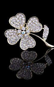 Heren / Dames / Voor Stel Broches - Stijlvol Broche Zilver / Gouden Voor Bruiloft / Feest / Dagelijks gebruik
