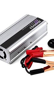 1500W DC 12V to AC 220V Power Inverter - Silver