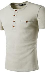 男性用 Polo ストリートファッション 幾何学模様 / 半袖