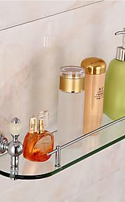 Badeværelseshylde Høj kvalitet Messing Glas 1 stk - Hotel bad