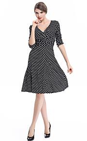 b86a1088a6f4 Φορέματα σε στενή γραμμή και άλλα  Νέες Αφίξεις. 37 Γυναικεία Πάρτι Βίντατζ  Γραμμή Α Φόρεμα - Πουά