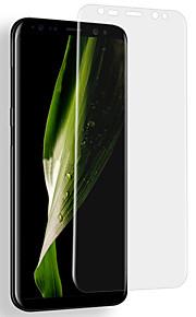スクリーンプロテクター Samsung Galaxy のために S9 Nano TPU 1枚 フルボディプロテクター 傷防止 超薄型 防爆