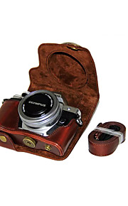 1976bbf17a2 55 dengpin® pu δέρμα κάμερα τσάντα υπόθεση κάλυψη για Olympus E-M10 Mark II  em10
