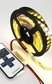 ZDM® 120 светодиоды Светодиодная лента 1M 1 пульт дистанционного управления Keys Тёплый белый Холодный белый Синий Можно резать