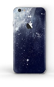 1 pezzo Autoadesivo della Pelle per Anti-graffi Cielo A fantasia PVC iPhone 6s Plus/6 Plus