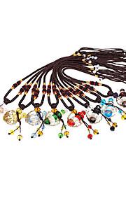 Personalized Coloured Glaze Necklaces Bride Bridesmaid Daily Wear