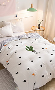 Komfortabel 100% Bomuld 100% Bomuld Reaktivt Print 300 TC Geometrisk