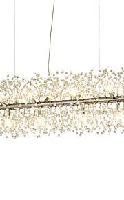 Lustre Lumière d'ambiance - Cristal, 110-120V / 220-240V, Blanc Crème / Blanc, Ampoule incluse / G9 / 15-20㎡