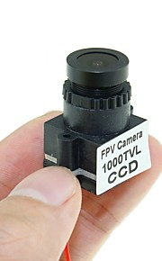 1000TVL 1/3 CCD Lens 110 Graden 2.8mm FPV Mini Camera Фотоаппарат RC вертолеты RC вертолеты Металл