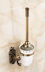 Toalettbørsteholder Multifunktion Antikk Messing 1pc - Hotell bad Vægmonteret