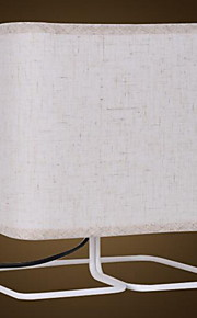 Tradicional / Clásico Decorativa Lámpara de Mesa Para Metal 220-240V Blanco Negro