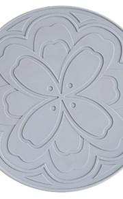 Hedendaagse Muovi Rond Placemats Effen Tafeldecoratie