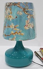 Tradizionale / Classico Cristallo Decorativo Lampada da tavolo Per Metallo 220-240V Blu Bianco Giallo