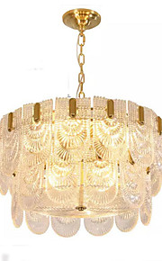 QIHengZhaoMing Chandelier Ambient Light - City View, Chic & Modern, 110-120V 220-240V, Warm White Cold White, Bulb Included