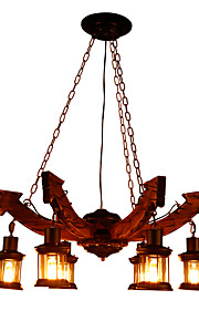Chandelier Ambient Light - Mini Style, LED Vintage, 110-120V 220-240V Bulb Not Included