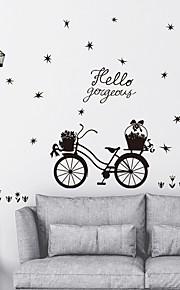 Adesivi decorativi da parete - Adesivi aereo da parete Paesaggi Salotto Camera da letto Bagno Cucina Sala da pranzo Sala studio / Ufficio