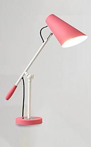 Moderno / Contemporaneo Pretezione per occhi Braccio oscillante Decorativo Lampada da scrivania Per Metallo 110-120V 220-240V Bianco Nero