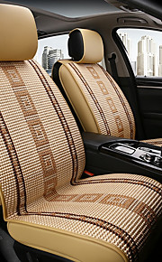 ODEER Car Seat Cushions Seat Covers Beige Textile Common for universal All years All Models