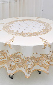 Hedendaagse PVC Rond Placemats Tafelinnen Geometrisch Tafeldecoratie