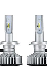 2pcs H7 Auto Žárovky 25W LED integrovaná 3000lm 2 LED Čelovka For Volkswagen / Mercedes-Benz / Hyundai Tucson / Santa Fe / X3 Všechny roky