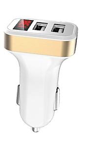 Auto Jednoduchý / Auto USB nabíječka Socket 2 USD porty for 12 V