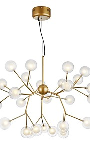 ZHISHU 노블티 샹들리에 엠비언트 라이트 Painted Finishes 금속 유리 창조적, 뉴 디자인 110-120V / 220-240V 전구 포함 / G4