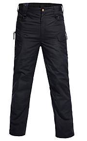 男性用 コットン スーツ / カーゴパンツ パンツ - ソリッド ライトブラウン