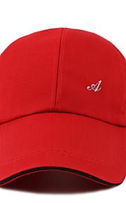 メンズポリエステル製の野球帽 - 無地色